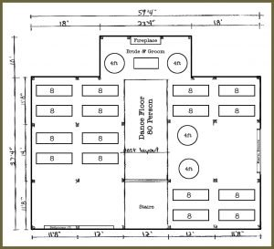 Click Here To Print Out A Blank Venue Layout